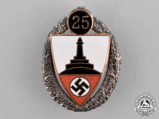 Germany, Third Reich. A 25-Year Kyffhäuser Veterans Organization Badge, by Deschler & Söhne