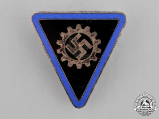 Germany, Third Reich. A German Labour Front (DAF) Women's Badge, by Otto Fechler