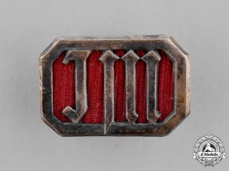 Germany, Third Reich. A Young Girls' League (Jungmädelbund) Achievement Badge, by Ferdinand Hofstätter