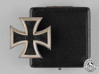 Germany, Wehrmacht. A Cased I. Class Iron Cross 1939, by Steinhauer & Lück