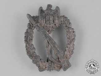 Germany. A Infantry Assault Badge, Silver Grade, by Hermann Aurich