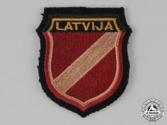 Germany, Waffen-SS. A Latvian Volunteer SS Sleeve Shield