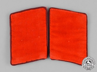 Germany, NSDAP. A Set of NSDAP Anwärter Collar Tabs, RZM Marked