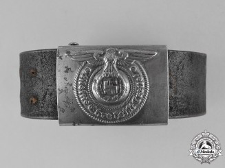 Germany, Waffen-SS. A Waffen-SS EM/NCO's Buckle and Belt