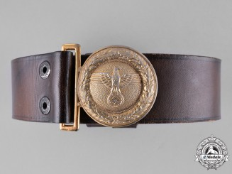 Germany, State Forestry Service. A Hesse/Baden Forestry Service Official's Service Belt