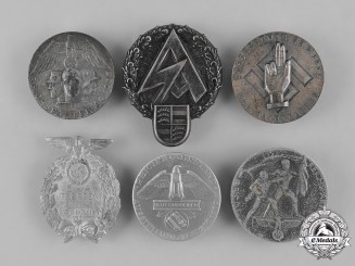 Germany, Third Reich. A Grouping of Third Reich Period Commemorative Badges