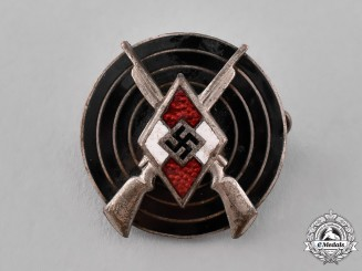 Germany, HJ. An HJ Marksmanship Badge, by Steinhauer & Lück