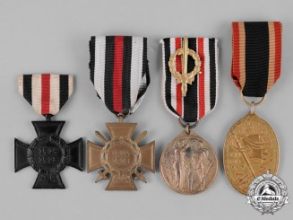 Germany, Empire. A Grouping of Four Imperial German Medals, Awards, and Decorations