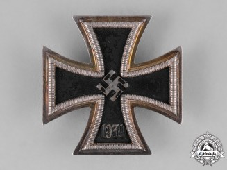 Germany, Wehrmacht. A I. Class Iron Cross 1939, by Fritz Zimmermann