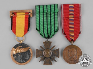 Germany, Empire-Third Reich. Three German Medals, Awards, and Decorations
