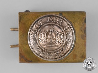 Germany, Imperial. A First War Era Heer (Army) EM/NCO Belt Buckle