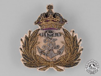 Austria, Imperial. An Austro-Hungarian Naval Officer's Cap Badge