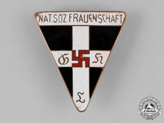 Germany, NS-Frauenschaft. A National Socialist Women's League Member's Badge