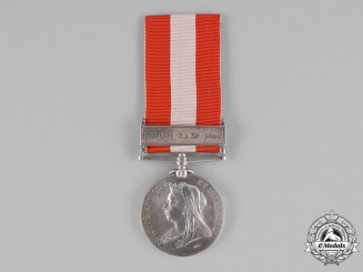 United Kingdom. A Canada General Service Medal 1866-1870