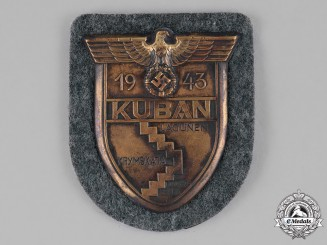 Germany, Heer. A Wehrmacht Heer (Army) Kuban Sleeve Shield