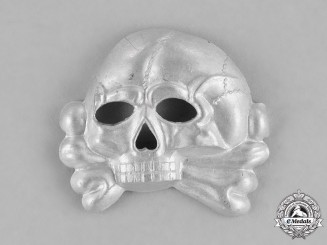 Germany, SS. An SS Skull Cap Insignia, First Pattern