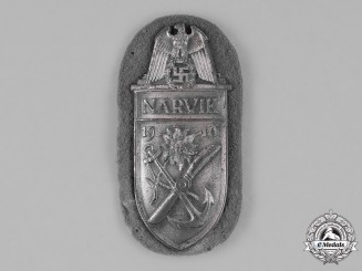 Germany, Luftwaffe. A Narvik Sleeve Shield