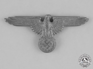 Germany, Waffen-SS. A Visor Cap Eagle, by F.W. Assmann