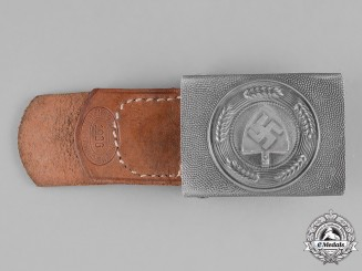 Germany, RAD. A Standard Issue EM/NCO's National Labour Service Belt Buckle, by L. Gottlieb & Söhne