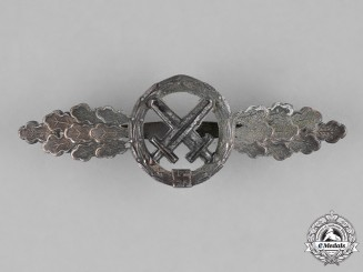 Germany, Luftwaffe. A Unit Squadron Clasp for Air to Ground Support Fighters, Silver Grade, by GH. Osang