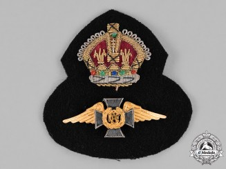 Canada. A Royal Canadian Air Force (RCAF) Chaplain's Cap Badge