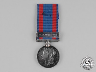 Canada. A North West Canada Medal to Ambulance Private Hunter, Royal Grenadiers