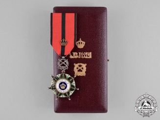 Iraq, Kingdom. An Order of the Two Rivers, Officer's Breast Badge, Military Division. c/1960