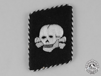 Germany, SS. A Second Pattern SS-Totenkopfverbände Collar Tab