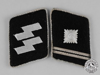 Germany, SS. A Set of Scharführer Collar Tabs