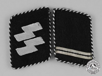 Germany, SS. A Set of Sturmmann Collar Tabs