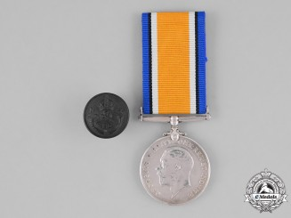New Zealand. A War Medal to Rifleman George Robertson Talboys, New Zealand Expeditionary Force