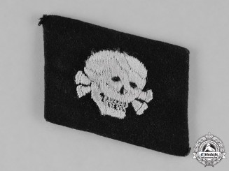 "Germany, SS. A 3rd SS Panzer Division ""Totenkopf"" Collar Tab"