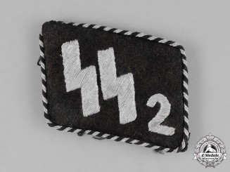 Germany, SS. An SS-Verfügungstruppe (Dispositional Troops) EM's Collar Tab