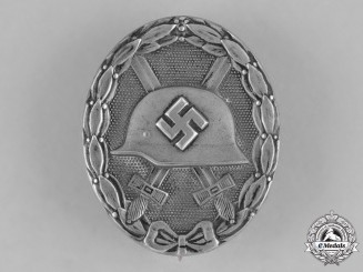 Germany, Wehrmacht. A Silver Grade Wound Badge