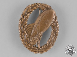 Germany, Wehrmacht. A Bronze Grade Balloon Observer's Badge, 1957 Reissue