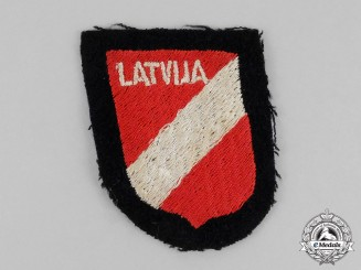 Germany. A Waffen-SS Latvian Foreign Volunteer Sleeve Shield