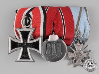 Germany, Wehrmacht. A 1957 Issue Medal Bar