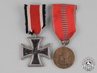 Germany, Wehrmacht. A Grouping of Two Second War Period Service Medals
