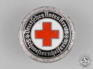 Germany, DRK. A German Red Cross (DRK) Nurse's Aid Badge