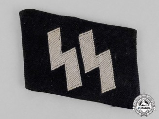 Germany. A Single Waffen-SS Rune Collar Tab