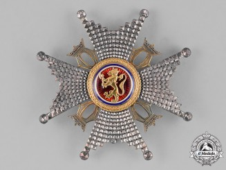 Norway, Kingdom. A Royal Order of St. Olav, Commander's Star, by I.Tostrup, c.1910