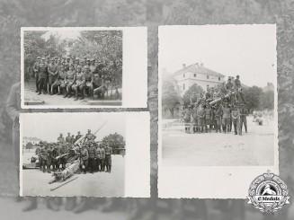 Croatia. Three Private Domobrani Photos, c.1942