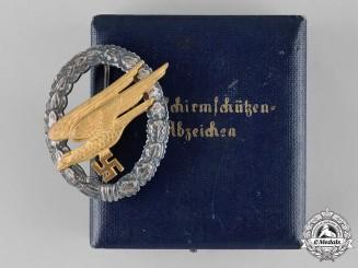 Germany, Luftwaffe. A Fallschirmjäger Badge, by F.W. Assmann