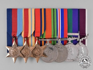 United Kingdom. A Second War & Cyprus Group, Warrant Officer/Flight Sergeant G.W. Sproates, RA