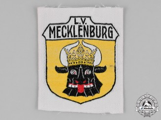 Germany, Weimar. A Stahlhelm Mecklenburg Sleeve Patch