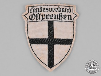 Germany, Weimar. A Stahlhelm Ostpreußen (East Prussia) Sleeve Patch