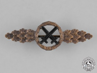 Germany, Federal Republic. A Luftwaffe Air-to-Ground Support Clasp, Bronze Grade, Alternative 1957 Version