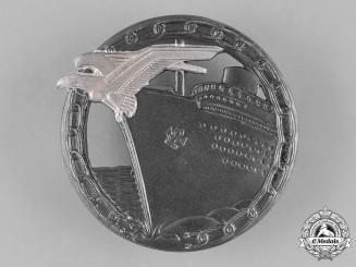 Germany, Federal Republic. A Blockade Runner Badge, Silver Grade, Alternative 1957 Version