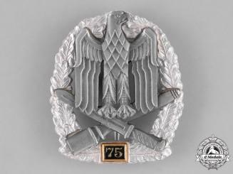 "Germany, Federal Republic. A General Assault Badge, Special ""75"" Grade, Alternative 1957 Version"