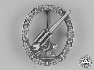 Germany, Federal Republic. An Army Anti-Aircraft Badge, Silver Grade, Alternative 1957 Version